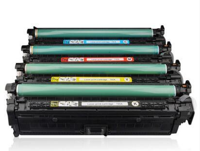 Ce270A 271A 272A 273A Compatible Toners for HP Laserjet Printer Cp5525 Toner Cartridge