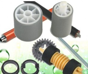 Upper Fuser Roller, Lower Pressure Roller, Upper Roller Bushing, Gear for Xerox