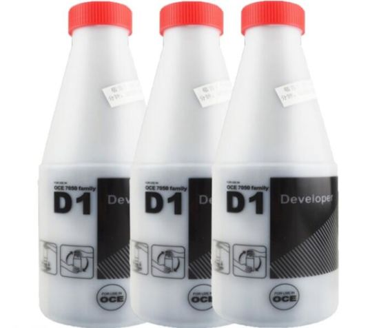 Oce D1 Black Developer Powder, Compatible for Oce 7050 7051 7055 7056 TDS 100